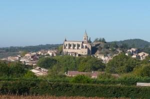 Het dorpje Bédoin