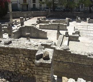 Opgravingen in Vaison-la-Romaine