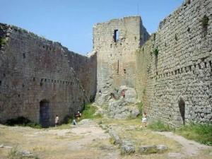 De ruïne van Montségur