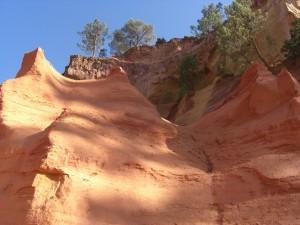 Okergroeve bij Roussillon