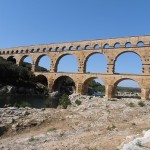 Van le Pont du Gard...