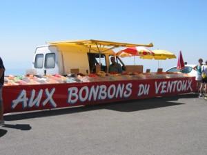 Snoepkraam Mont Ventoux