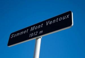 Het uiteindelijke doel: de top van de Mont Ventoux!