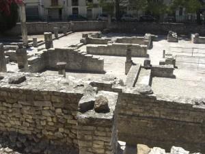 De Romeinse opgravingen in het hartje van Vaison-La-Romaine