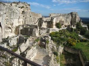 De burcht van Les Baux-de-Provence