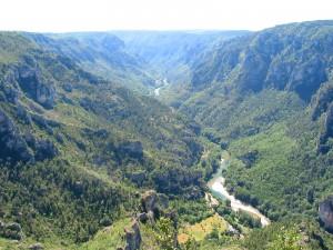 Uitzicht over de Gorges du Tarn