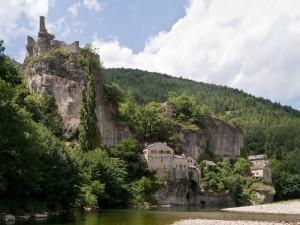 Dorpje in de Gorges du Tarn