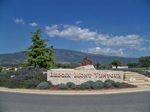 Wielermonument bij Bèdoin