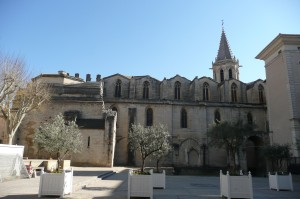 Romaanse Kathedraal in Carpentras