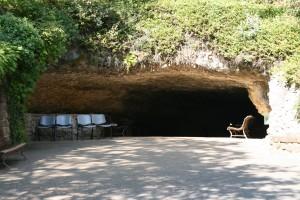 Ingang van de grot van Rouffignac