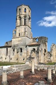 De abdij van Sauve-Majeure