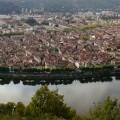 Van de prachtige stad Cahors in de Midi-Pyrénées...