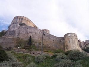 De citadel van Bonifacio