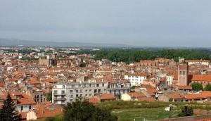 Perpignan, uitzicht op de stad