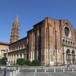 De Basiliek van Saint-Sernin in Toulouse