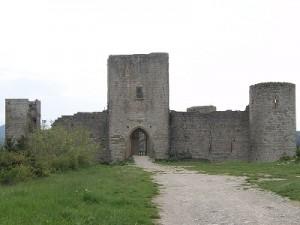 Het kasteel van Puivert