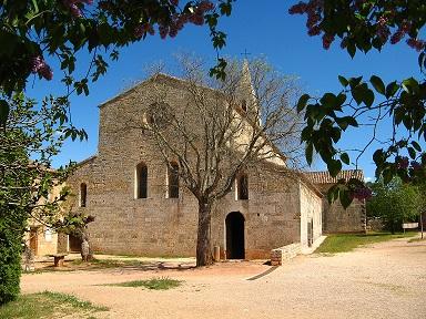 de abdij van Le Thoronet