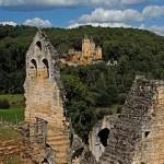 Het kasteel van Commarque