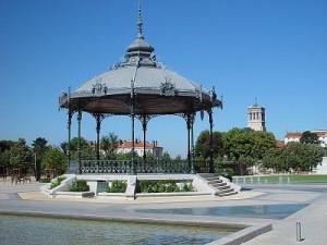 Het beroemde Champ de Mars in Valence