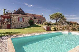 Vakantiehuizen in Limousin met zwembad