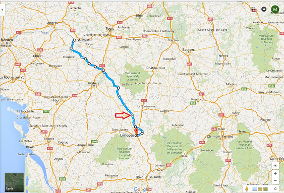 Saumur-Limoges