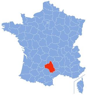 Aveyron Zonnig Zuid Frankrijk