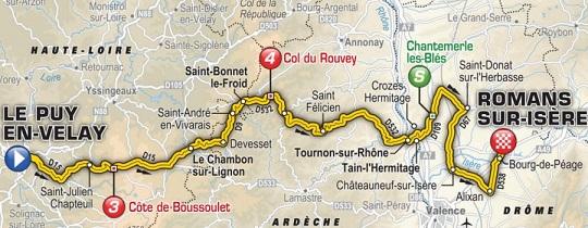 Le Puy-en-Velay-Romans-sur-Isère