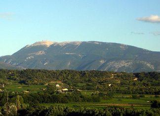 Vakantie bij de Mont Ventoux