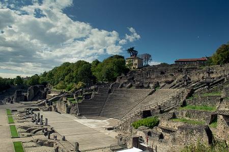 Antiek theater van Lugdunum