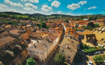 Steden en dorpen in Bourgogne