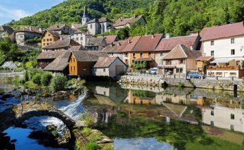 Steden en dorpen in Franche-Comté
