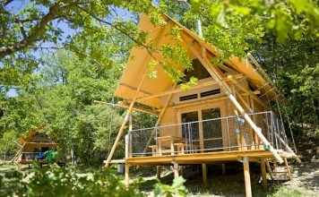 Camping Village Huttopia Dieulefit
